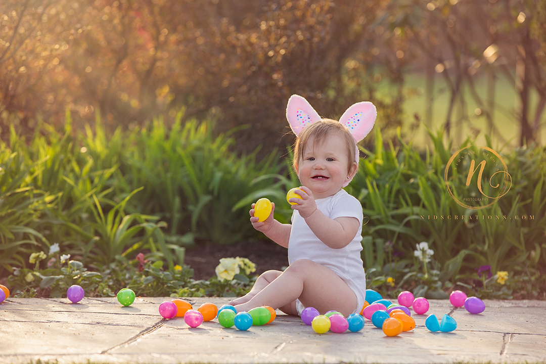 Easter themed photo session