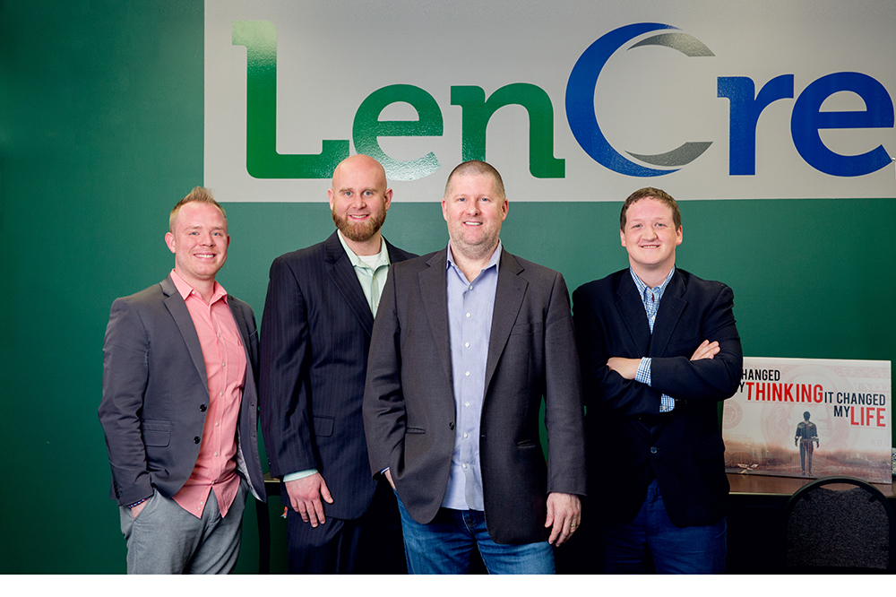 CORPORATE BRANDING AND HEADSHOTS WITH LENCRED