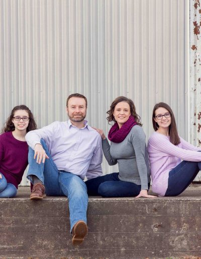 Bentonville family portrait